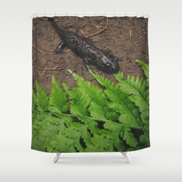 Salamander Shower Curtain