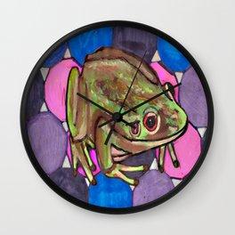 Frog #1 Wall Clock