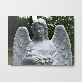 Angel Frozen In Time Metal Print