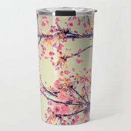 cherry blossom pop Travel Mug