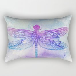 Mandala Dragonfly Rectangular Pillow