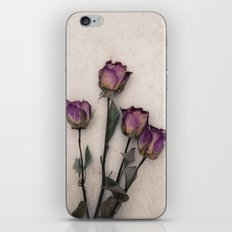 four dried roses iPhone & iPod Skin