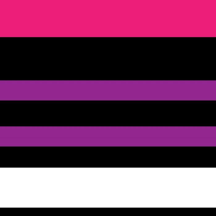 e4b2fce005c954 Stripes Pink Purple Black White Leggings by vintageappeal623   Society6