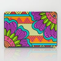 hippy iPad Cases featuring Hippy tribal by Pooja Jeshang