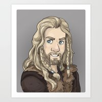 fili Art Prints featuring Fili by quietsnooze
