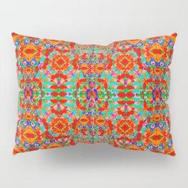 orange pattern Pillow Sham