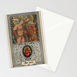 amor aeternus 2 Stationery Cards