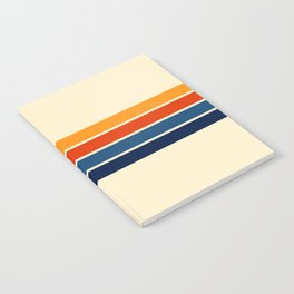 Classic Retro Stripes Notebook