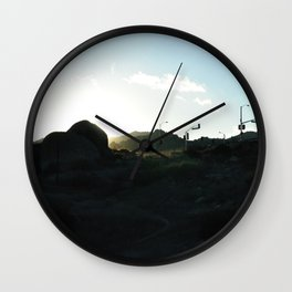 Topanga Canyon Wall Clock