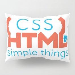 HTML/CSS/JS Pillow Sham