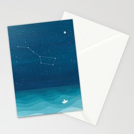 Big Dipper constellation Stationery Cards