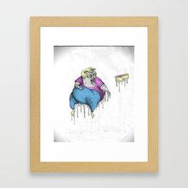 THE FINAL BLOOD BATH. Framed Art Print