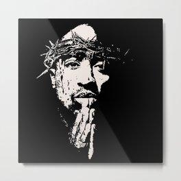 Tupac Artwork Metal Print