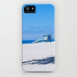 Lifeguard Tower I iPhone Case