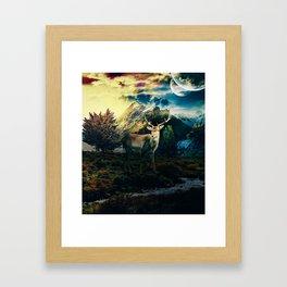 Deer VI Framed Art Print