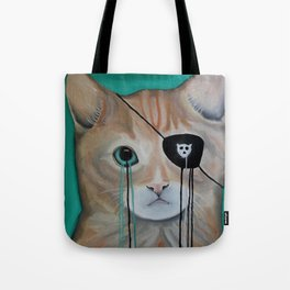 Kit Furry Tote Bag