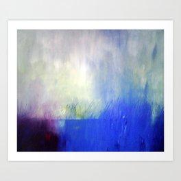 Sky and water Art Print