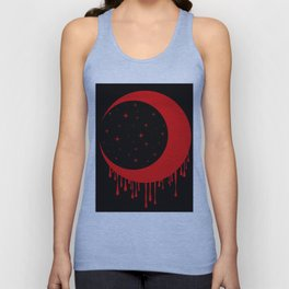 Red Moon Unisex Tank Top