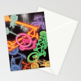 Neon Stationery Cards