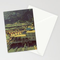 Beach in Amalfi, Italy Stationery Cards