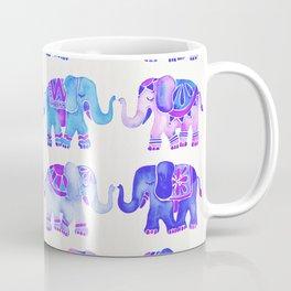 Elephant Collection – Indigo Palette Coffee Mug