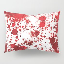Blood Splatter Pillow Sham