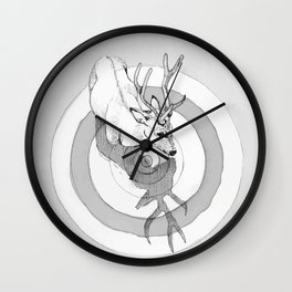 Cervidae Wall Clock