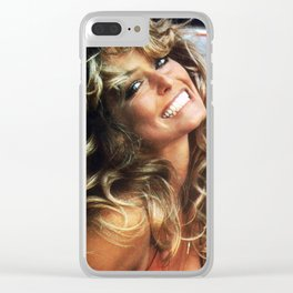 Farrah Smile Clear iPhone Case