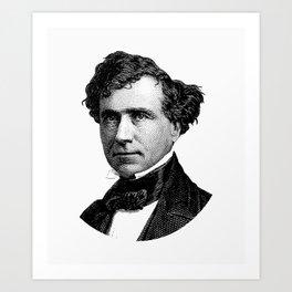 President Franklin Pierce Graphic Art Print