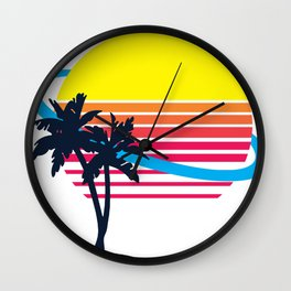Wish I Was There (text free) Wall Clock
