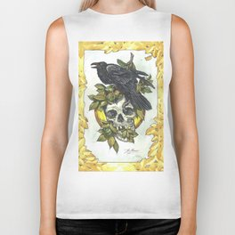 Skull and crow Biker Tank