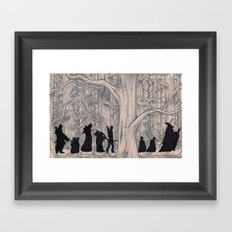 On the way (The Fellowship of the Ring, LOTR) Framed Art Print