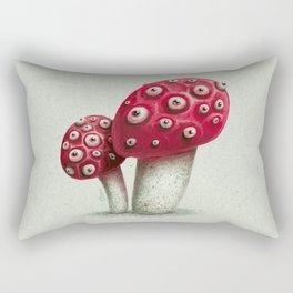 Mushroom Amanita Rectangular Pillow