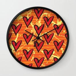 Joy 5 by Kathy Morton Stanion Wall Clock