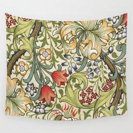 Modern poster-William Morris-Vegetable print 4. Wall Tapestry