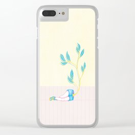 The Renaissance of Your Intentions Clear iPhone Case
