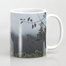 Foggy Oahu Green Coffee Mug