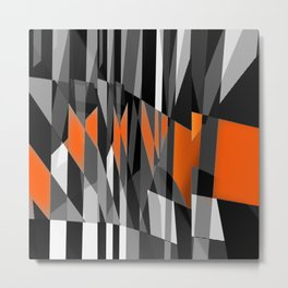 oppositions. 3a Metal Print