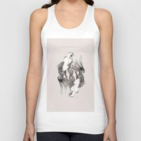 koi Tank Tops featuring Koi by Heaven7