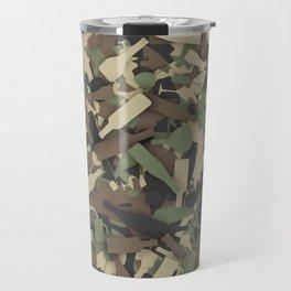 Forest alcohol camouflage Travel Mug
