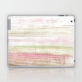 Dark vanilla abstract watercolor Laptop & iPad Skin