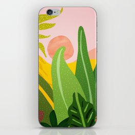 Jungle Morning iPhone Skin