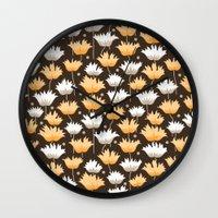 gucci Wall Clocks featuring shaggy black by Ariadne
