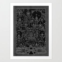 koznoz jungle Art Print