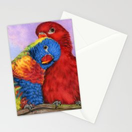 The Color Of Love Stationery Cards