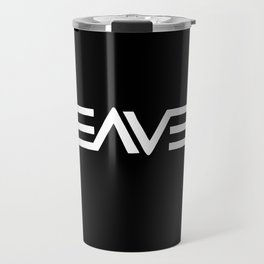Heaven - Ambigram series (Black) Travel Mug