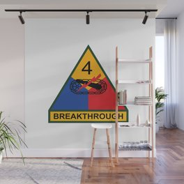 4th Armored Division Wall Mural
