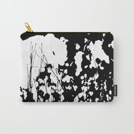 Abstract Black and White Rorschach Carry-All Pouch