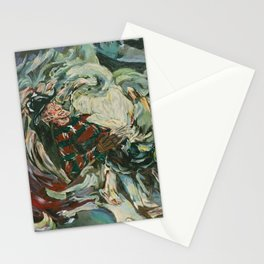 Nightmare in the Tempest: Freddy Krueger Stationery Cards