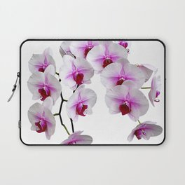 White and red Doritaenopsis orchid flowers Laptop Sleeve